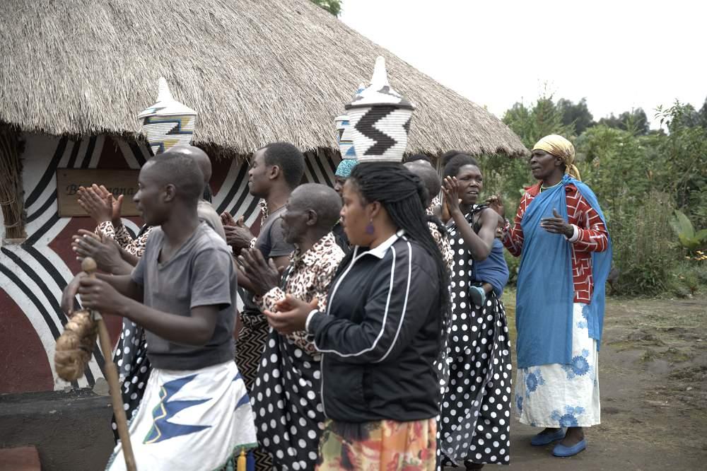 cultural village wedding party