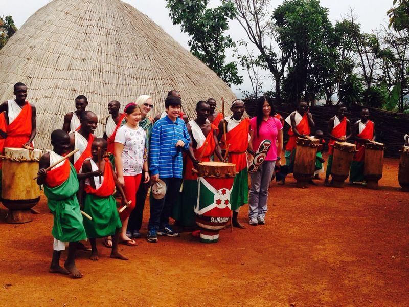family tour in rwanda-Burundi